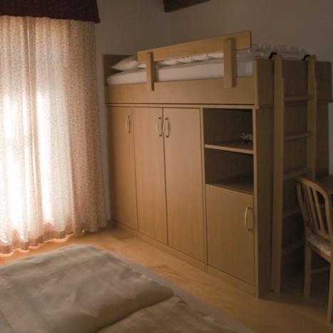 Camera Hotel in Abete con terzo letto