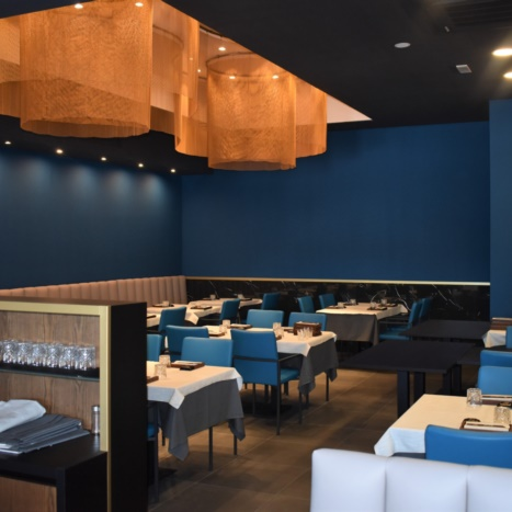 Koi Restaurant panche e sedie in ecopelle
